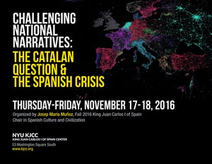 image from VIDEO | Challenging National Narratives: the Catalan Question & the Spanish Crisis KJCC Chair Josep Maria Muñoz