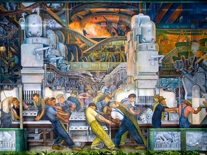 image from Lecture |  Andrés Bello Chair Julio Ramos First Public Lecture: Detroit´s Rivera: public art, film and labor