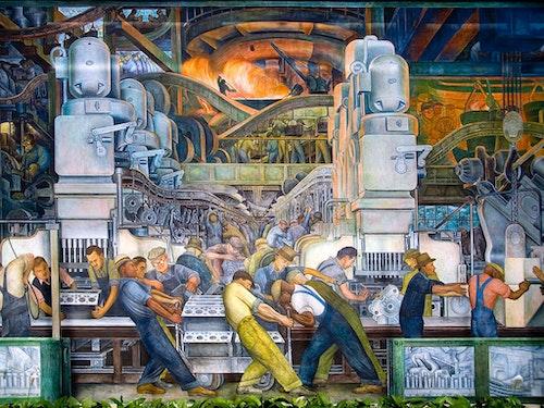 Andrés Bello Chair Professor Julio Ramos 1st Public Lecture | Detroit´s Rivera: public art, film & labor