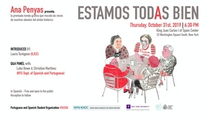 """image from """"Estamos todas bien"""" by Ana Penyas: the award-winning graphic novel that saves our grandmothers' voices from the oblivion of history"""
