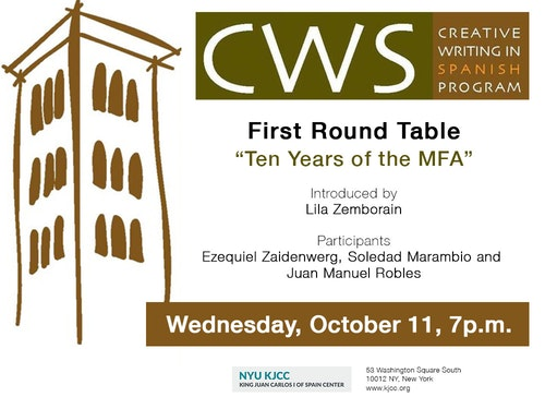 """CWS: First Round Table """"Ten years of the MFA"""""""