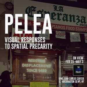 image from Opening Exhibit | PELEA: Visual Responses to Spatial Precarity