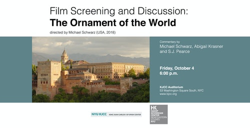 **EVENT CANCELLED** Film Screening: The Ornament of the World