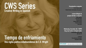 image from CWS Series | Presentation of the Collective Translation: Tiempo de enfriamiento. Una vigilia poética estadounidense, by C. D. Wright
