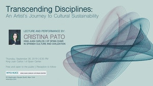 image from VIDEO | Cristina Pato - King Juan Carlos Chair | Lecture and Performance: Transcending Disciplines