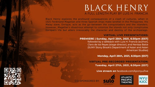 Black Henry | A full length play by Luis H. Francia