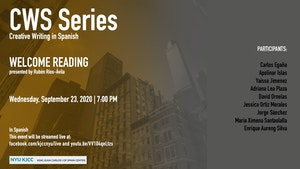 image from Online Event | CWS Series | Welcome Reading by the MFA Students