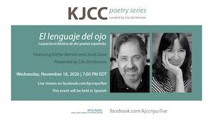 image from Online Event | KJCC Poetry Series | El lenguaje del ojo