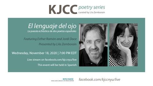 Online Event | KJCC Poetry Series | El lenguaje del ojo