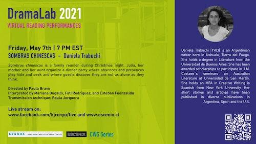 Online Event | DramaLab 2021 | SOMBRAS CHINESCAS by Daniela Trabuchi