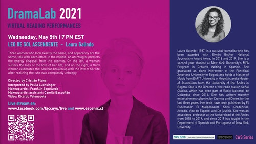 Online Event | DramaLab 2021 | LEO DE SOL ASCENDENTE by Laura Galindo