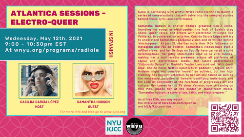 ATLANTICA Sessions - ELECTRO-QUEER with SAMANTHA HUDSON