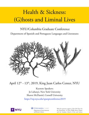 image from Conference | HEALTH & SICKNESS: (G)HOSTS AND LIMINAL LIVES