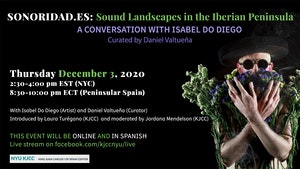 image from Online Event | SONORIDAD.ES: A CONVERSATION WITH ISABEL DO DIEGO