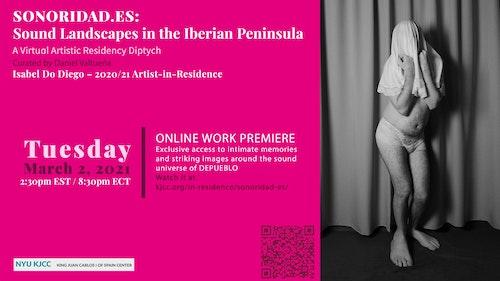Isabel Do Diego - 2020/ 21 KJCC Artist-in-Residence Online Work Premiere
