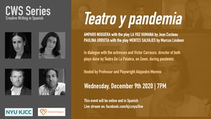 image from Online Event | CWS Series | Teatro y Pandemia