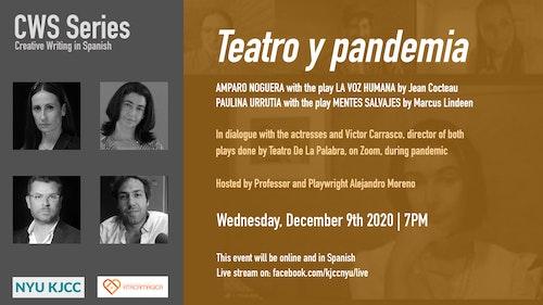 Online Event | CWS Series | Teatro y Pandemia