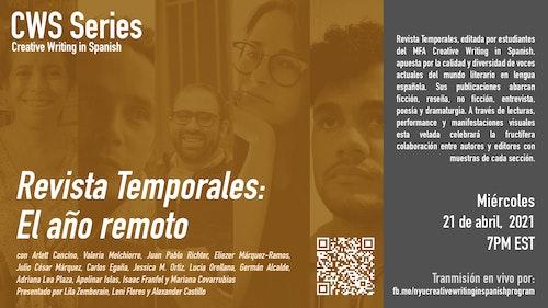 Online Event | CWS Event: Revista Temporales - El año remoto