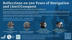 "image from Keynote Panel, ""Reflections on 500 Years of Navigation and (Anti)Conquest"""