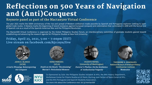 """Keynote Panel, """"Reflections on 500 Years of Navigation and (Anti)Conquest"""""""